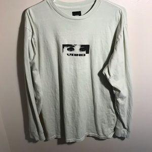 Men's Vans Mint green Long sleeve T shirt